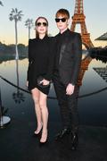 Lindsay Lohan - Saint Laurent Fashion Show in Paris 9/25/2018 2b3fd3985774564