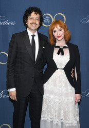 Christina Hendricks - Brooks Brothers Bicentennial Celebration in NYC 4/25/18