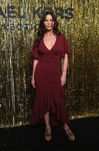 Catherine Zeta-Jones - Michael Kors Fashion Show in NYC 2/13/19