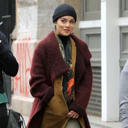 Vanessa Hudgens - Filming 'Second Act' in NYC 5/6/18