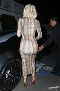 Khloe Kardashian - Out for dinner in Santa Monica 3/12/19