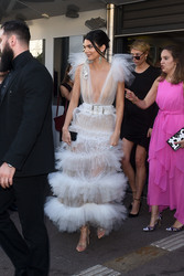 Kendall Jenner - Leaving her hotel in Cannes 5/12/18
