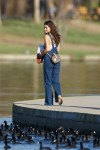 Selena Gomez at Lake Balboa park in Encino 02/02/20189dfd8a737638403