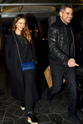 Jessica Alba - Out for dinner in Beverly Hills 3/2/18