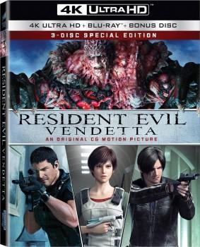Resident Evil: Vendetta (2017) Full Blu-Ray 4K 2160p UHD HDR 10Bits HEVC ITA DD 5.1 ENG TrueHD 7.1 MULTI