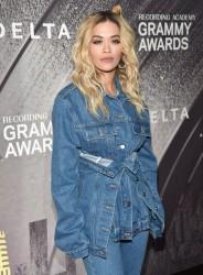 Rita Ora - Delta Air Lines Celebrates 2018 GRAMMY Weekend in NYC 1/25/18