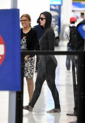 Katy Perry at Miami International Airport in Miami - 12/21/17