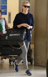 Charlize Theron - At LAX Airport 5/30/18