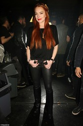 Lindsay Lohan - At LOHAN Nightclub in Greece 2/26/18