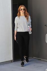 Julianne Hough - Leaving the gym in LA 4/16/18