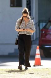 Elizabeth Olsen - Out in LA 2/8/18