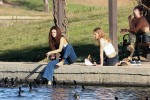 Selena Gomez at Lake Balboa park in Encino 02/02/201884b1f9737644153