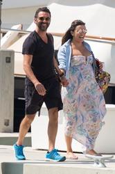 Eva Longoria - Leaving a yacht in Miami 3/18/18