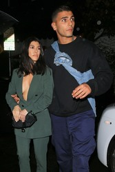 Kourtney Kardashian - Arriving at a party in Hollywood 3/10/18