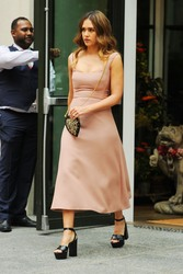 Jessica Alba - Out in NYC 8/8/18