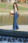 Selena Gomez at Lake Balboa park in Encino 02/02/20180ada43737639373