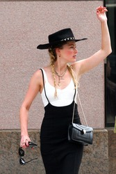Amber Heard - Out in NYC 7/31/18