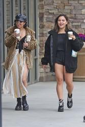 Vanessa & Stella Hudgens Leaving Starbucks in Los Angeles 04/19/201801352b829366133