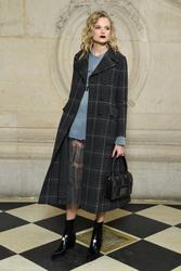 Gabriella Wilde - Christian Dior Fashion Show in Paris 2/27/18