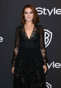Zoey Deutch - 2019 InStyle And Warner Bros. Golden Globe Awards After Party 1/6/19