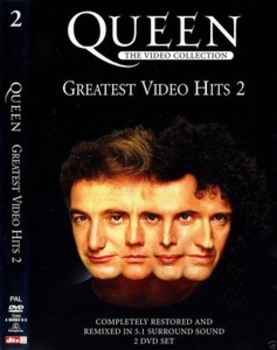 Queen - greatest video hits II (2002) 2xDVD9 COPIA 1:1 ENG