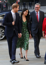 Meghan Markle - Arriving at a Invictus Games meeting in London 4/21/18