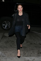 Katharine McPhee - Out for dinner in West Hollywood 3/6/18