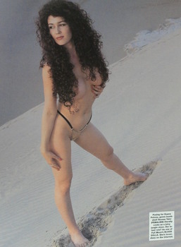 Venesa Talor: Topless Shoot x 1