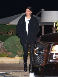 Sofia Richie - Out for dinner at Nobu in Malibu 2/3/18