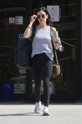 Lucy Hale - Leaving the gym in Studio City 7/18/18