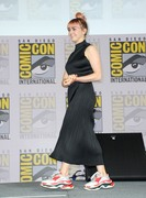 """Maisie Williams -        """"Game Of Thrones"""" Panel and Q&A Comic-Con 2019 San Diego July 19th 2019."""