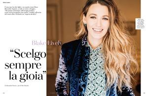 Blake Lively -                  Io Donna Magazine (Italy) November 24th 2018.