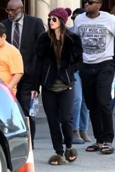 Megan Fox - Arriving at church in Malibu 2/4/18