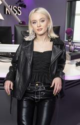 Zara Larsson - Kiss FM Studio's in London 3/27/19