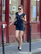 Lily-Rose Depp - Out in Paris 5/7/18