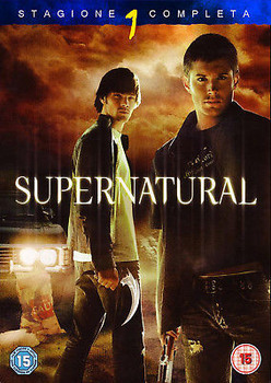 Supernatural - stagione 1 (2005-2006) 6xDVD9 COPIA 1:1 ITA ENG FRA