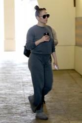 Jennifer Lopez - Leaving the gym in LA 1/3/18