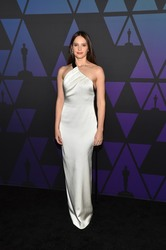 Felicity Jones - 10th Annual Governors Awards in Hollywood 11/18/18
