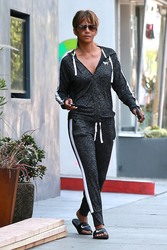 Halle Berry - Out in West Hollywood 8/2/18