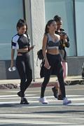 Jasmine Tookes, Chantel Jeffries & Jocelyn Chew - Leaving pilates class in LA 1/28/19