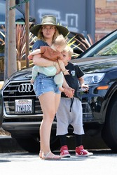 Hilary Duff at Alfred Coffee in Studio City, CA - 8/3/19