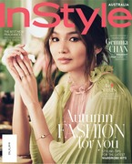 Gemma Chan -             InStyle Magazine (Australia) May 2019.