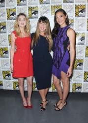 "Amber Heard - ""Aquaman'' Panel San Diego Comic-Con July 21st 2018."