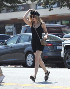 Lucy Hale - Out for lunch in Toluca Lake 6/14/18