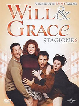 Will & Grace - Stagione 6 (2003–2004) 4xDVD9 Copia 1:1 ITA-ENG