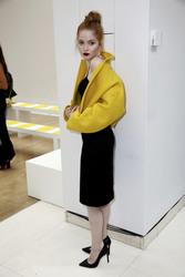 Ellie Bamber - Jasper Conran Fashion Show in London 9/15/18
