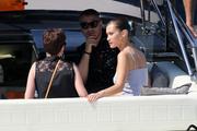 Bella Hadid boarding a yacht in Monaco 05/25/2018c09293876375004