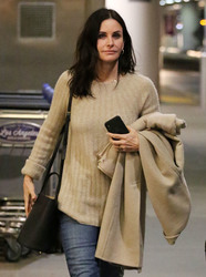 Courteney Cox - At LAX Airport 1/31/19