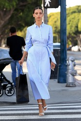 Angela Sarafyan - Shopping in Beverly Hills 8/17/18