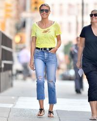 Heidi Klum -                                New York City June 25th 2018.